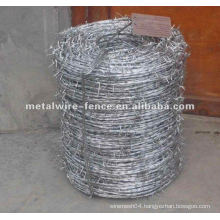 hot-dipped galvanized double twisted barbed wire(manufacturer)