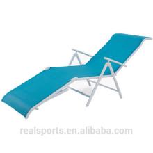 Mobília ao ar livre da mobília da cadeira da mobília do jardim da associação da dobradura que nada a cadeira ensolarada