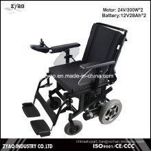 Fashionable Cheap Portable Lightweight Folding Electric Wheelchair