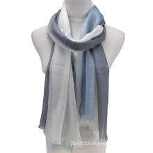 Fashion 100%Worsted Cashmere Scarf (14-BR390801-1.5)