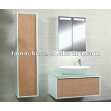 DIY Wood Veneer Bathroom Furniture