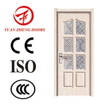 Los últimos precios de puerta de PVC de diseño