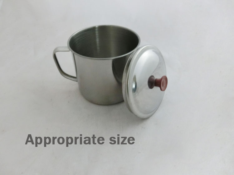Magnetized cups stainless steel water bottle