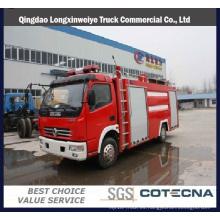 Dongfeng 4X2 3000L pequeño camión de lucha contra incendios de agua
