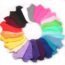 Baratos algodão promocional meias curtas