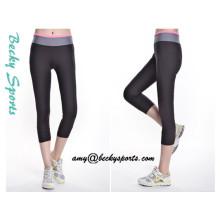 Dame Yoga Tragen Sportwear Yoga Hosen mit benutzerdefinierten Farbe