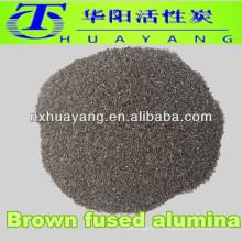 60 #mesh brun grain d'oxyde d'aluminium / sablage à l'oxyde d'aluminium