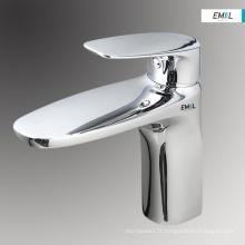 Mitigeur de salle de bain en laiton monotrou