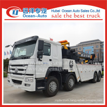 SINOTRUK HOWO 8X4 16ton tow truck with winch for sale