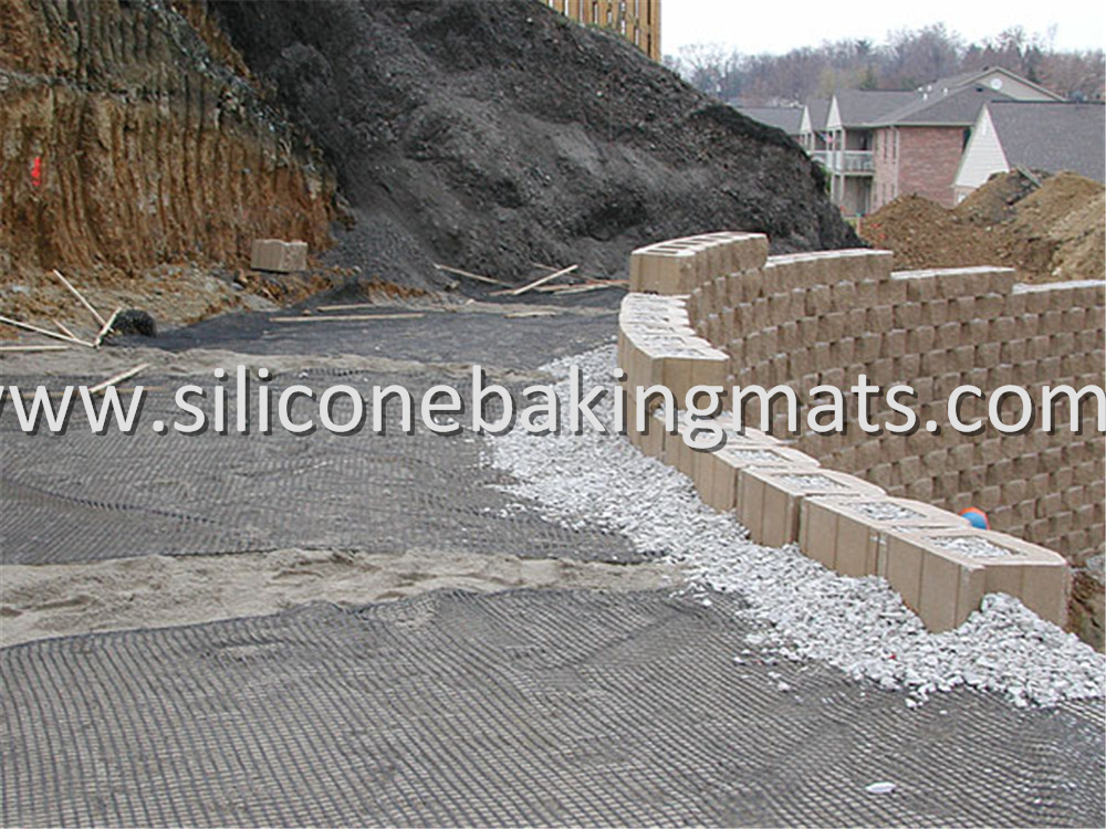 Embankment Stabilization Polyester Geogrid
