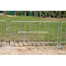 Barrière de barrière en acier mobile galvanisée à chaud et à bon marché