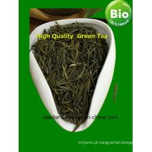 Chá verde fresco com longa história