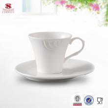 Fabriqué en Chine Tasse à café en céramique avec soucoupe