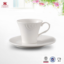 Made in China Ceramic Drinkware Coffee Cup With Saucer