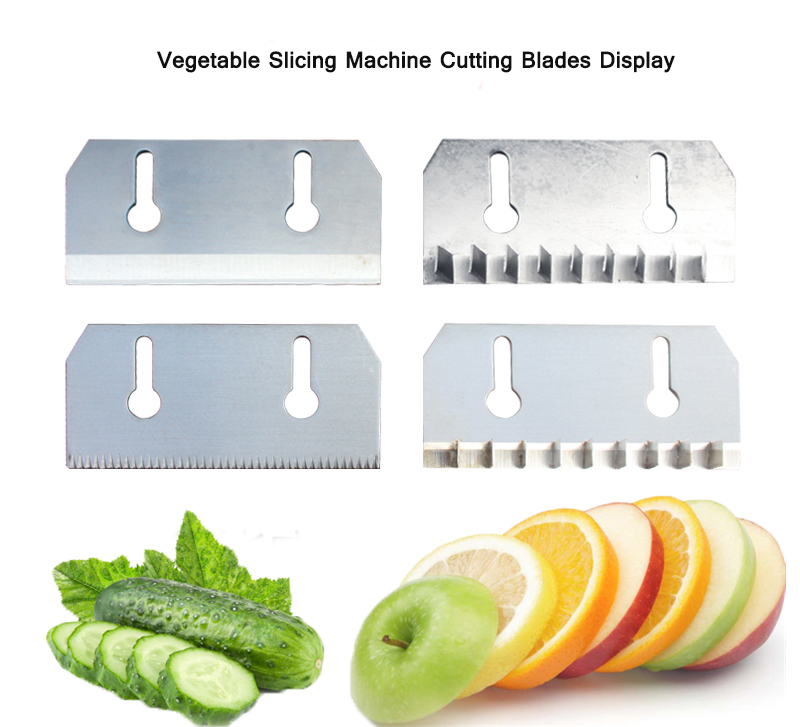 vegetable slicing machine cutting blades