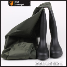 PVC One-Piece Waterproof Safety Boots (SN5201)