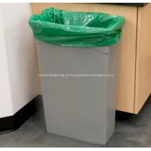 Sacos de lixo pretos para lixeiras