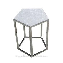 Китайская морская ракушка с чайным столом из пентагона из нержавеющей стали