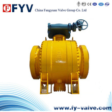 API Side Entry Trunnion Electrical Ball Valve