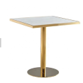 titanium gold stainless steel table base