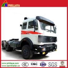 Sino Truck Head 6*4 4*2 Tractor Truck (Horse Power Optional)