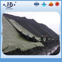 Waterproof and mildew proof canvas tarpaulin for mining