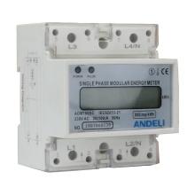 ADM100SC ANDELI energy meter 10-60A single phase  KWH