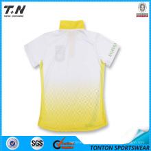 Security Blank New Design Custom Couple Polo Shirt