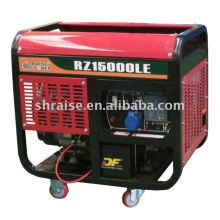 Gerador de motor refrigerado por ar móvel
