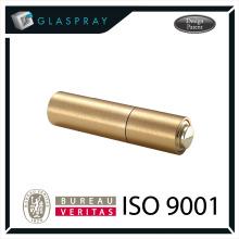 SCALA CNC Twist and Spray Embalagem De Perfumes De Luxo De Ouro Escovado De 20ml