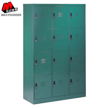 12 Door Bag Store Metal Locker