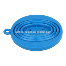 FDA LFGB China Professional Manufacturer Food Grade Heat Resistant Collapsible Coffee Filter Silicone Coffee Dripper