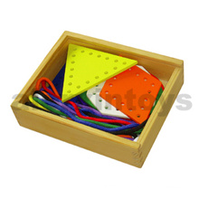 Wooden Lacing Shape Toys (80164-3)