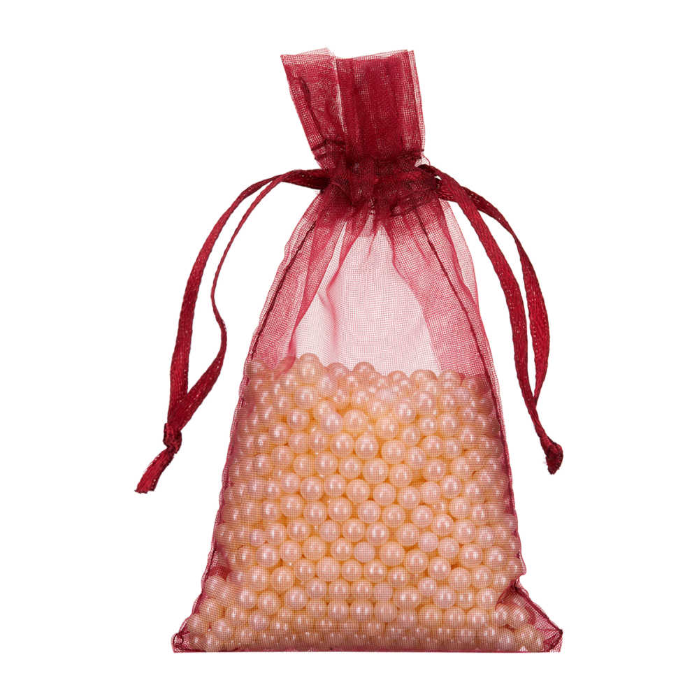 beautiful organza pouch