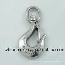 Gancho de aço inoxidável Gancho de encaixe de mola de aço inoxidável (Fundição de precisão)