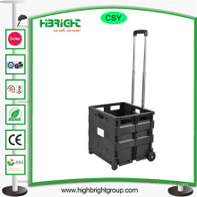 Foldable Boot Shopping Cart with Lids