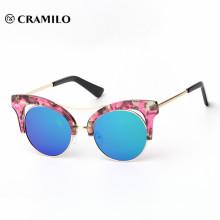 Cramilo hot selling cateye custom fashion sunglasses
