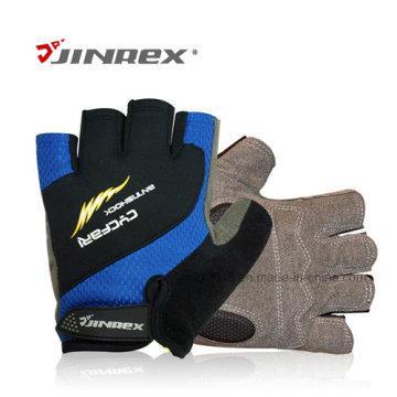 Половина Finger Велоспорт спортивные перчатки