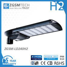 Luz de calle económica mini LED de alta potencia 240W