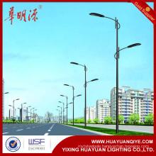galvanized steel tubular light poles