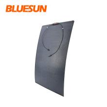 Bluesun Best Sale Flexible Small Size Solar Panels 70W 110W 160W Flexible Solar Energy System Marine Semi Flexible Solar Panel