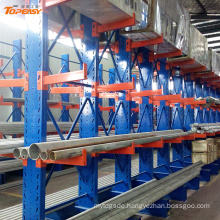 custom-made double-side storage lumber / scaffold / color tube cantilever rack