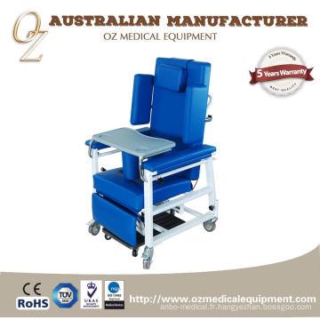 Chaise de réadaptation de chaise de soins infirmiers à la maison de convalescent