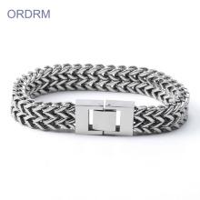 Bracelete Chain de aço inoxidável dos homens os mais atrasados dos projetos