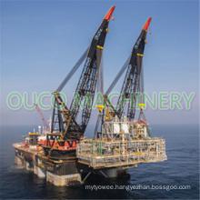 Electric Hydraulic Offshore Pedestal Crane