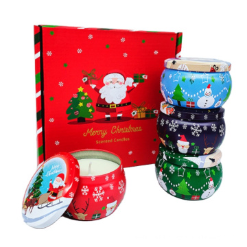 High Quality Scented Christmas jar Candle