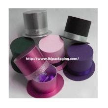 Chapéu de Luxo Embalagem Display Caixa Redonda