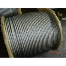 6X12+ 7FC Galv Steel Wire Rope