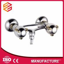 mélangeur de douche et de bain surface montée robinet de douche à deux poignées