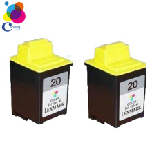 Refilled ink Printer cartridge 20 (15M0120) Color china factory price